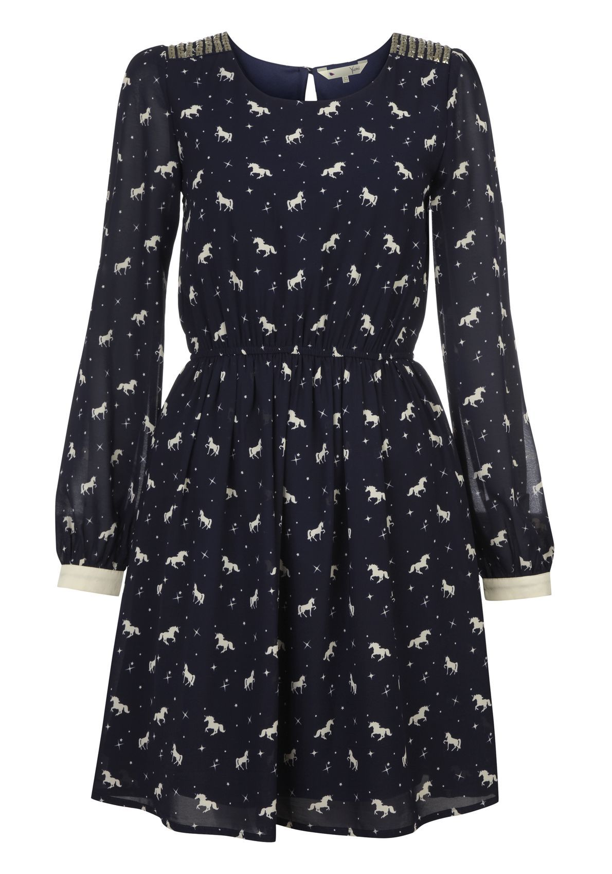 1a81220dff3b Unicorn Print Dress- Yumi London. UK10, equivalent to a US 2-4. NWT. Will  only swap for another dress.