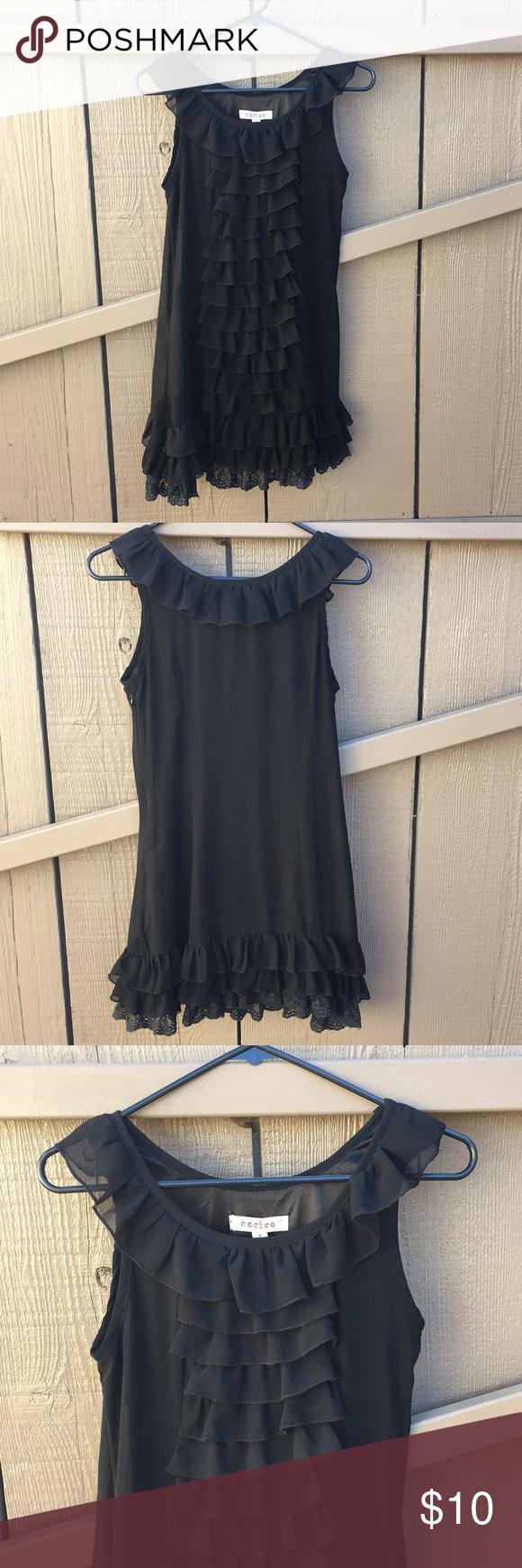 Black ruffle dress black ruffle ruffle dress and ruffles