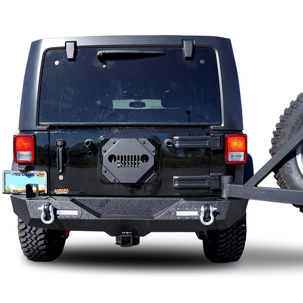 Tail Gate Cover Vented For Jeep Wrangler Jk Jku Wranglers Accessories Parts And Your Jl Tj