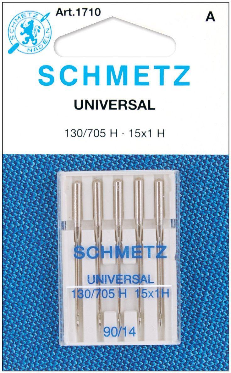 Universal Machine Needles-Size 14/90 5/Pkg