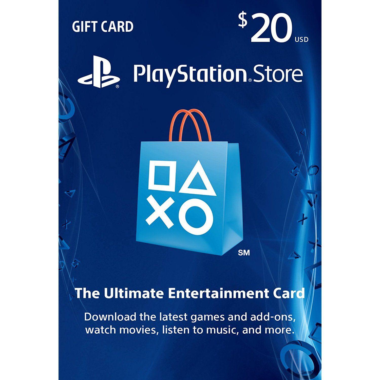 $20 PlayStation Store Gift Card PS3 PS4 PS Vita [Digital Code]