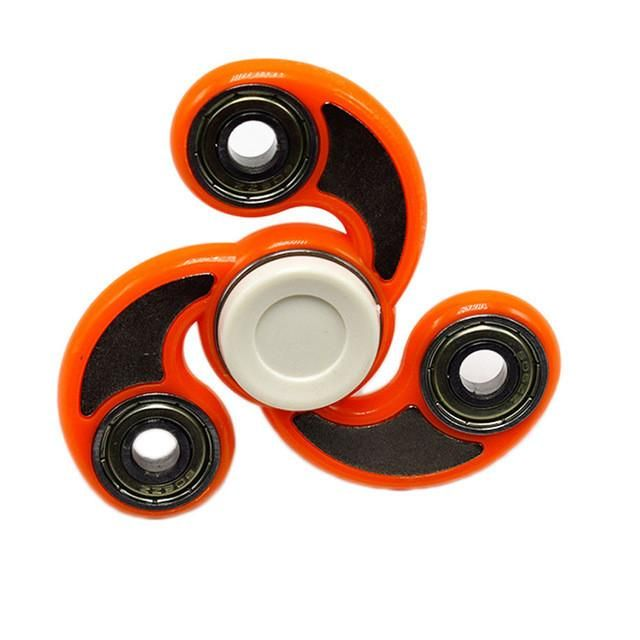 New Tri-Spinner Fidget set Toy Plastic Spinner Hand For Autism and Rotation Time Long Anti Stress Toys