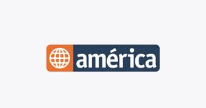America Tv En Vivo Canal 4 Tv America Communication Logo
