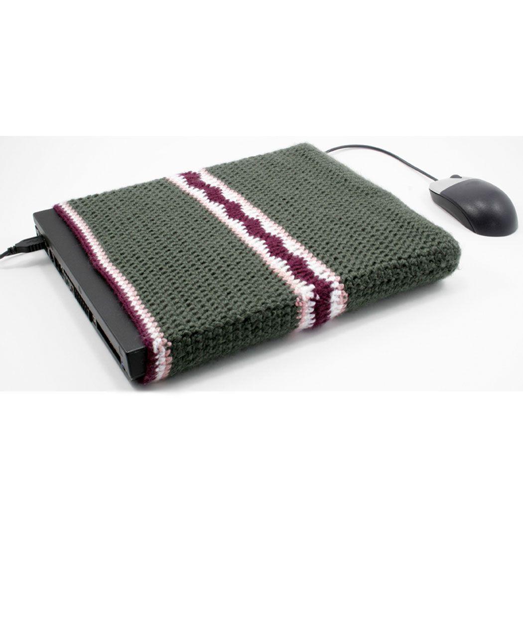 Crochet Laptop Cover: free pattern