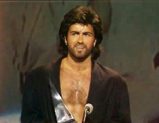 George Michael at the American Music Awards, 1986