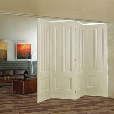Ducasse 80kg Folding Sliding Door Gear - 2 Panel - IronmongeryDirect ...