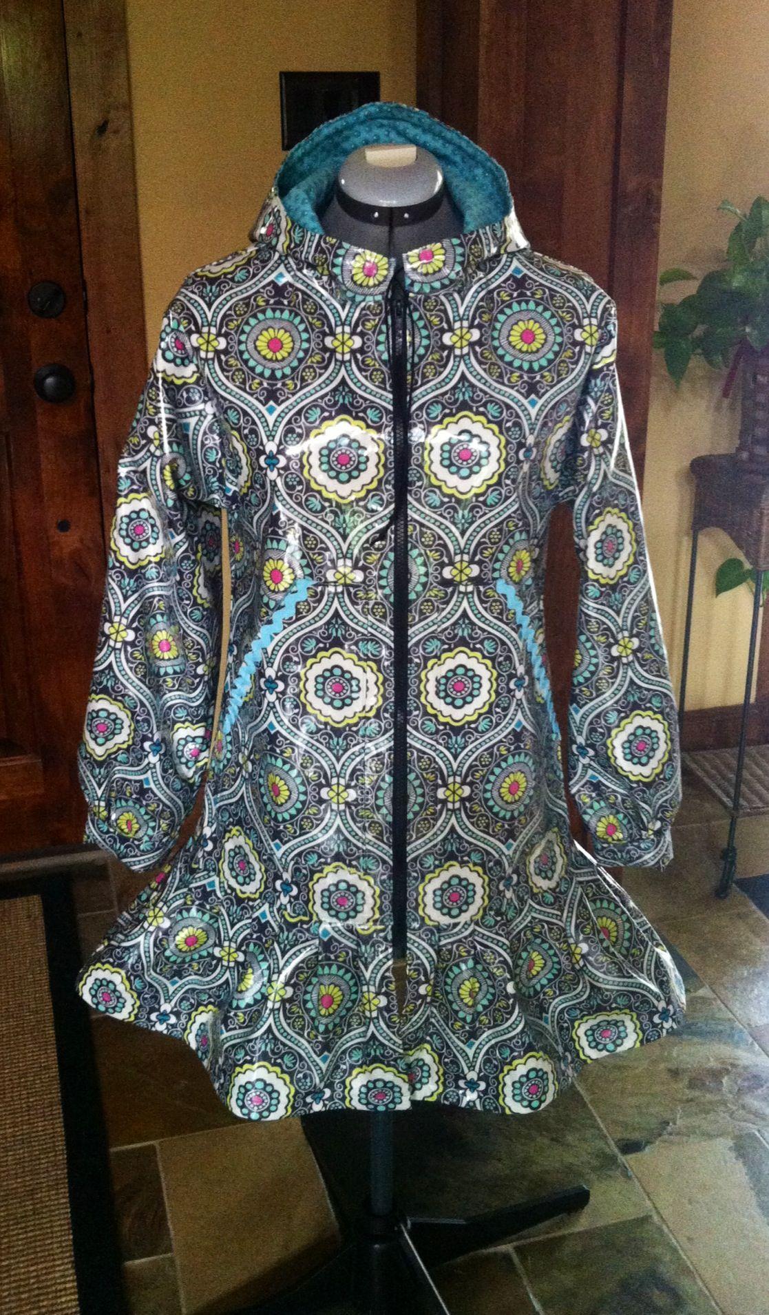 Rainpuk, kuspuk raincoat for women and girls Http://www.etsy.com ...