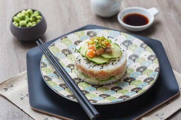 Sushi Cake Recipe Sushi Cake Sushi Food Recipes