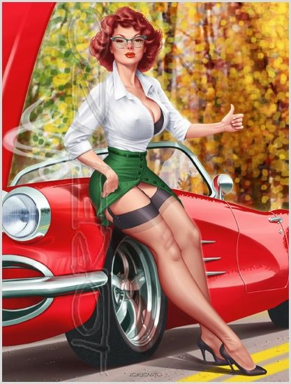 How bout a ride, my Vette's broken down on me !