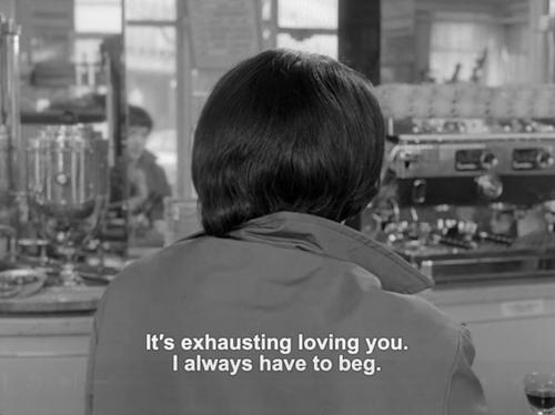 Vivre Sa Vie 1962 Im Sick Of Begging Poetry Quotes Jean