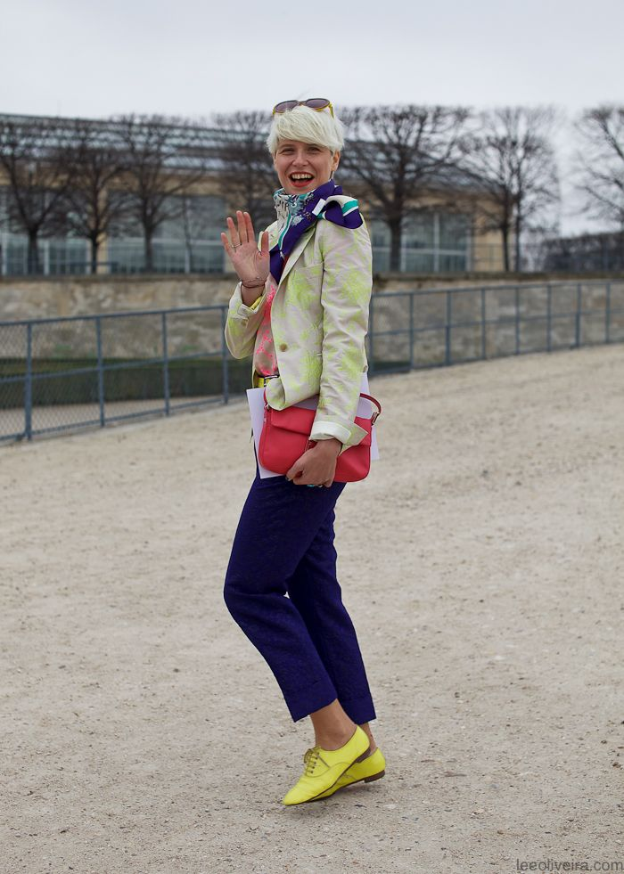 this woman is adorable.  elisa nalin, stylist.