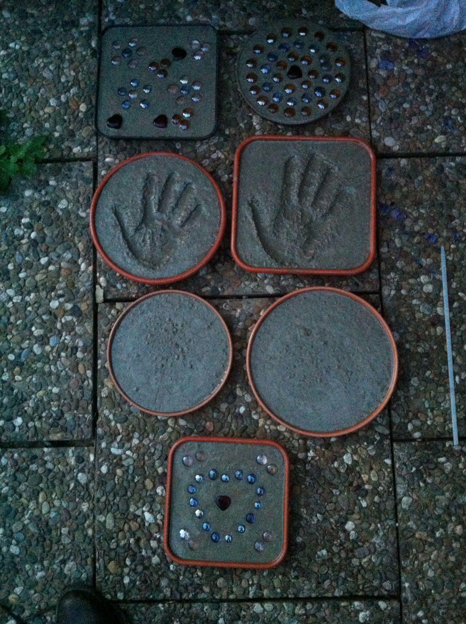 trittsteine aus beton selber machen | want to make | pinterest