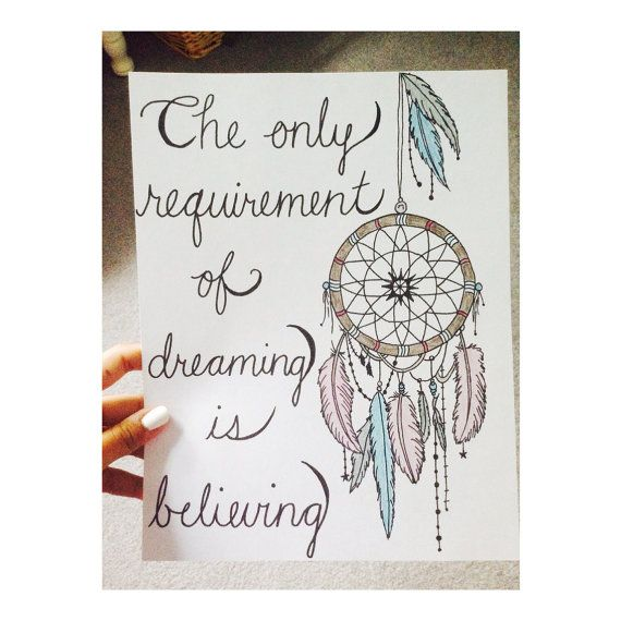 Tattoo Quotes Dreams: Dream Catcher - Quote