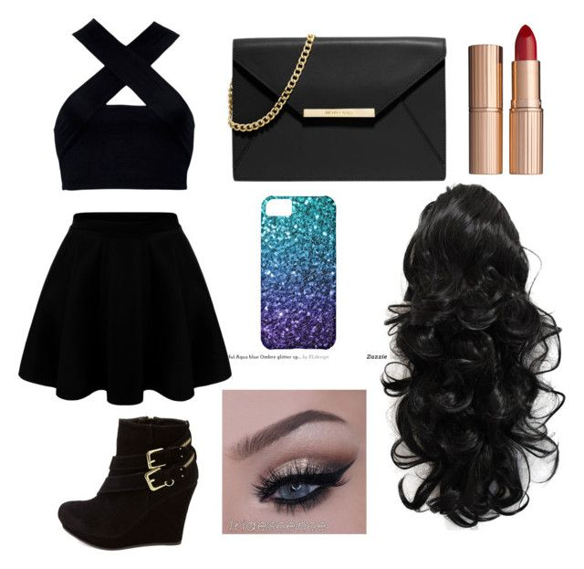 """""""Untitled #2"""" by angelinagonzalez1014 on Polyvore featuring Motel, Charlotte Russe, MICHAEL Michael Kors and Charlotte Tilbury"""