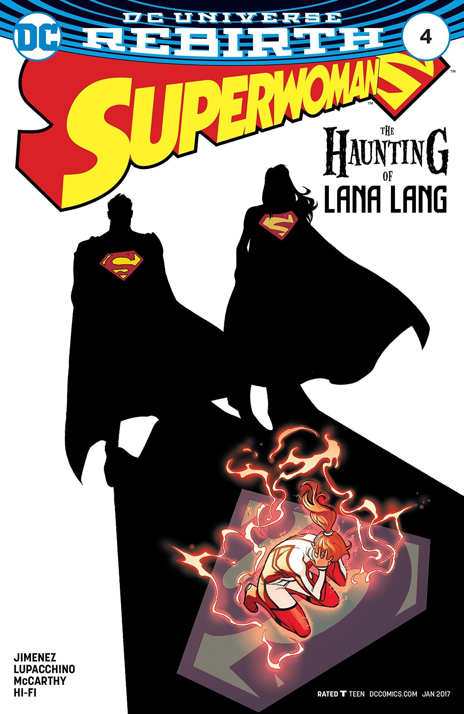 Superwoman (2016-2017) #4   Superman family. Superman. Comics