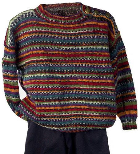 Free Knitting Pattern - Baby Sweaters: Johnny Boy Baby Pullover ...