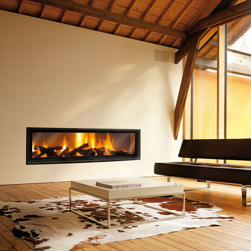Gas Heating Stove Central Metal Contemporary Boafocus