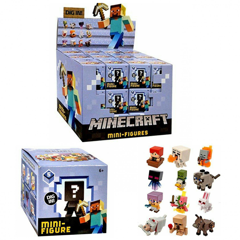 Minecraft Ice Series 5 Mystery Mini Figure Blind Box Full