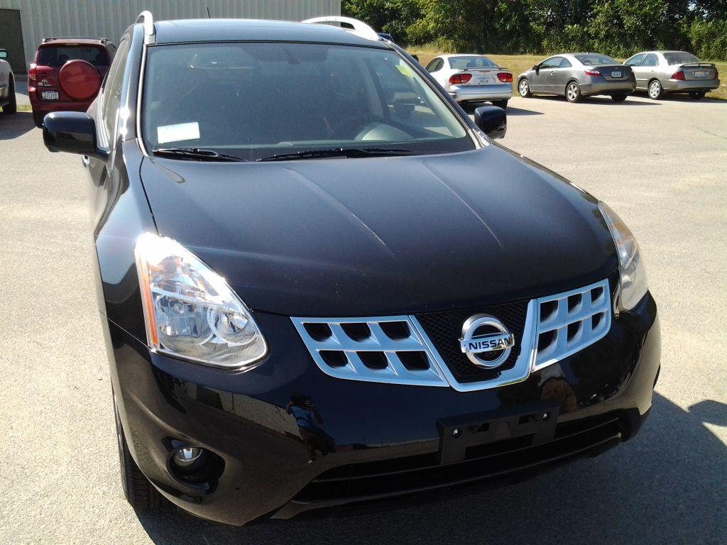 2013 Nissan Rogue in Black at Cedar Rapids Nissan Dealer