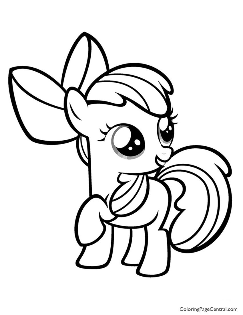My Little Pony Coloring Pages Apple Bloom Jpg 850 1100 My Little Pony Printable My Little Pony Drawing My Little Pony Coloring