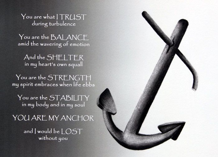Anchor Charcoal Drawing & Prose