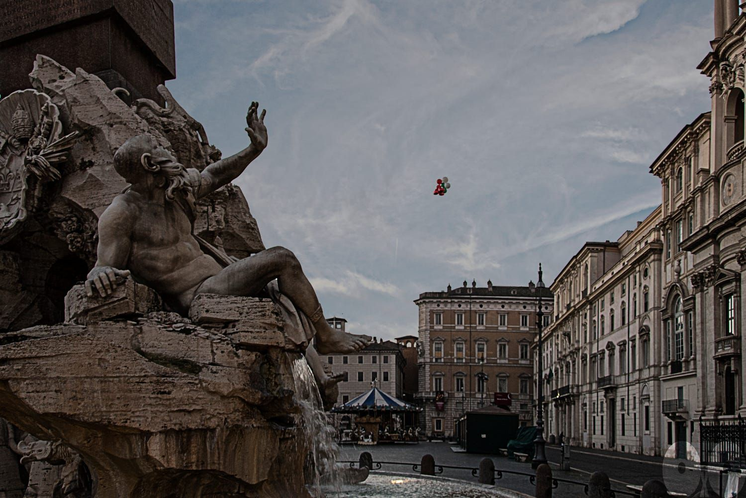 Surprised by flying balloons by occhioXocchio   | Giovanni Cappiello on 500px