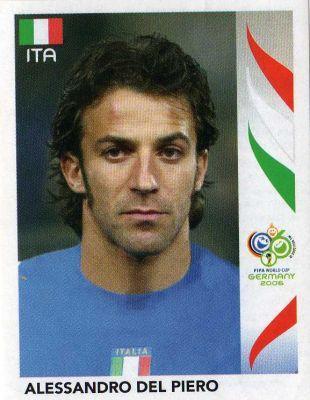 world cup panini germany 2006 - A. Del  Piero