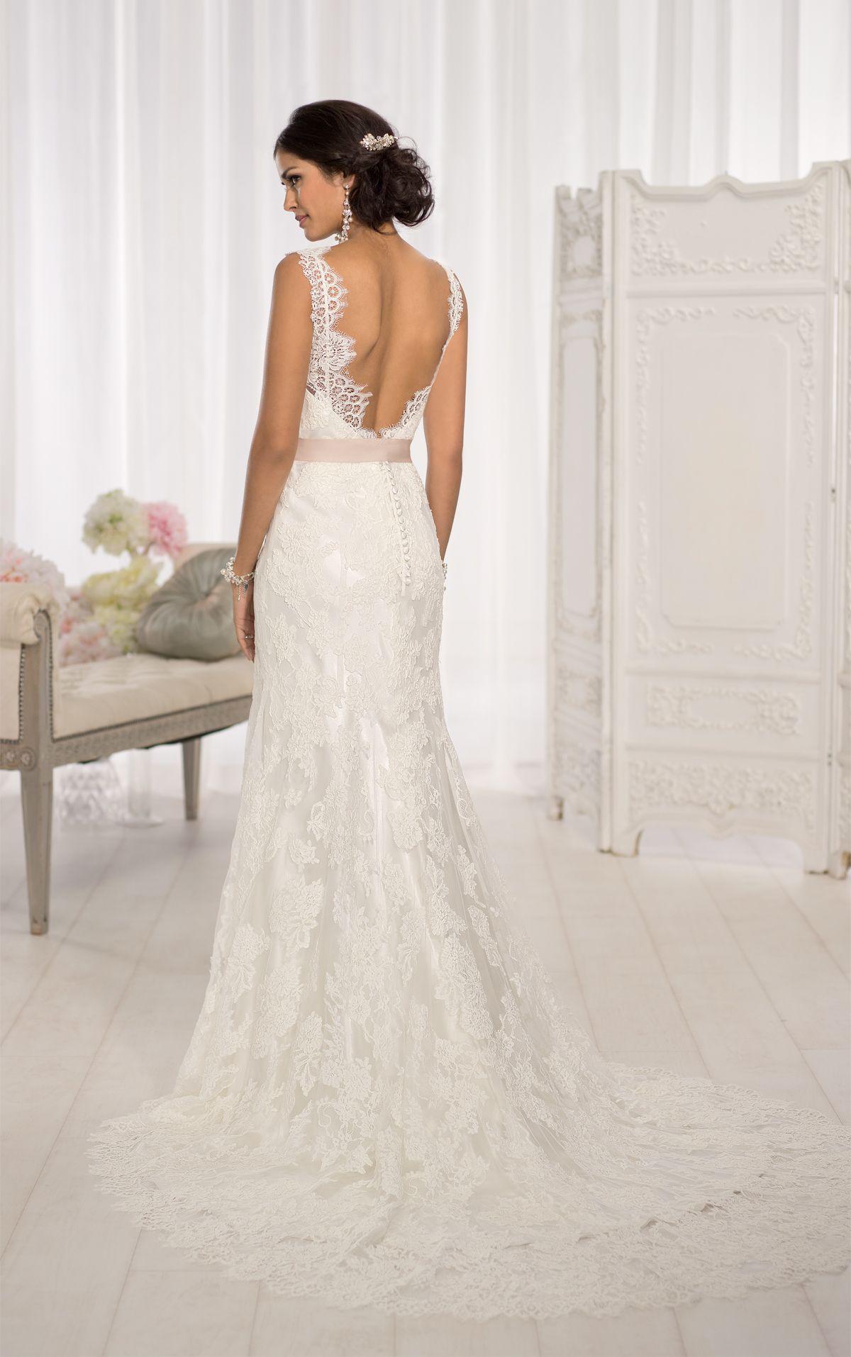 Modern Vintage Wedding Dress by   Satin, Vintage wedding dresses and ...