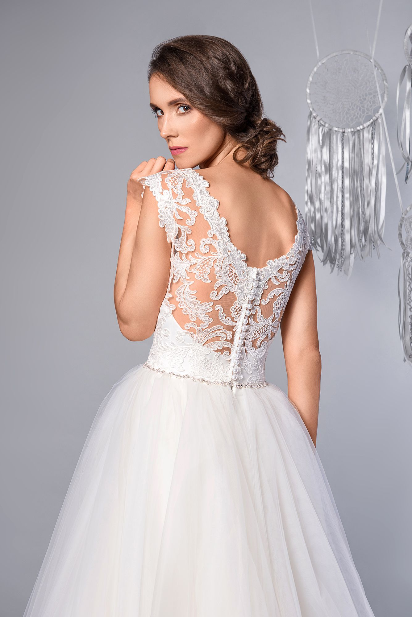 9b1537f0740f5 Candy - Suknia Ślubna Koronka Piękne Plecy. Wedding Dress Lace Beautiful  Back #sukniaślubna #