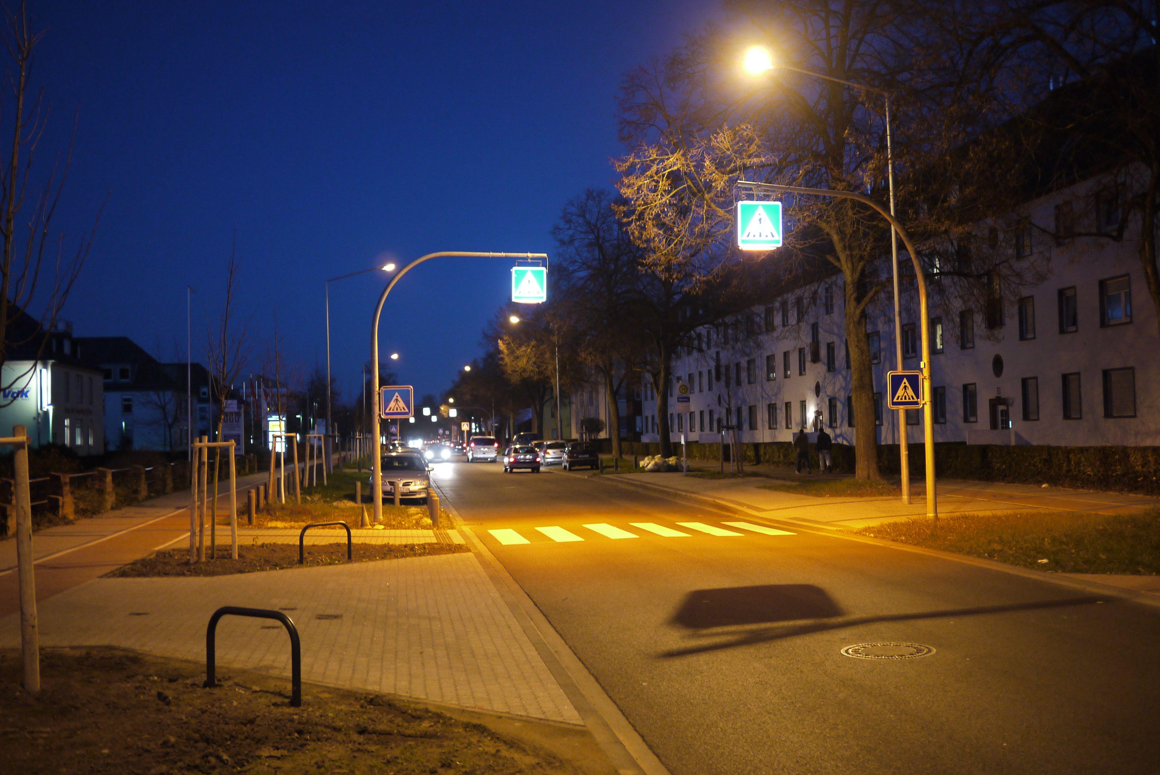 fußgängerüberweg beleuchtung tolle bild oder aebaadaca