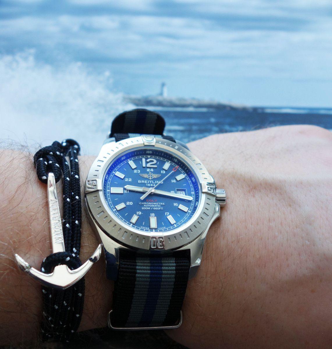 Watchbandit Anker Armband Anchor Bracelet Schwarz Black Uhrenarmbander Armband Uhren