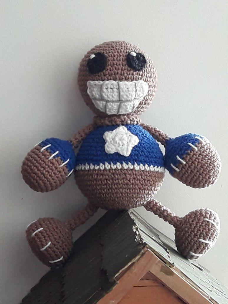 Kick the buddy a crochet | Muñecos de ganchillo, Ganchillo, Amigurumi