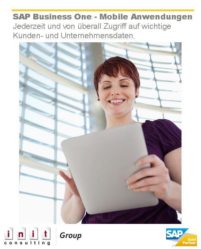Von unterwegs aus kann auf wichtige Kunden- und Unternehmensdaten zugegriffen werden und dies auch noch in Echtzeit: http://www.b1-blog.de/mehr-moeglichkeiten-durch-die-mobilen-anwendungen-von-sap-business-one/