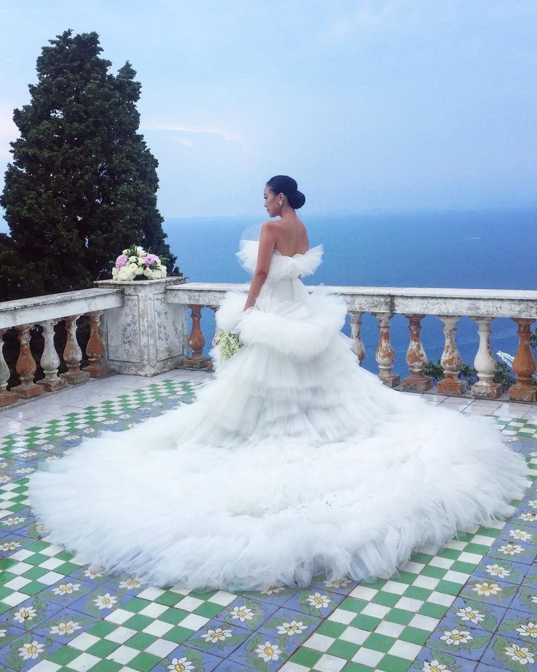 Feiping Chang S Giambattista Valli Wedding Dress Wedding Dresses