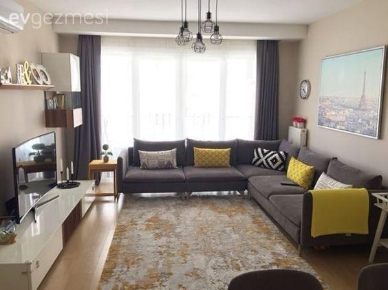 Bu Modern Stil Evde Yaşamak Çok Kolay   Ev Gezmesi