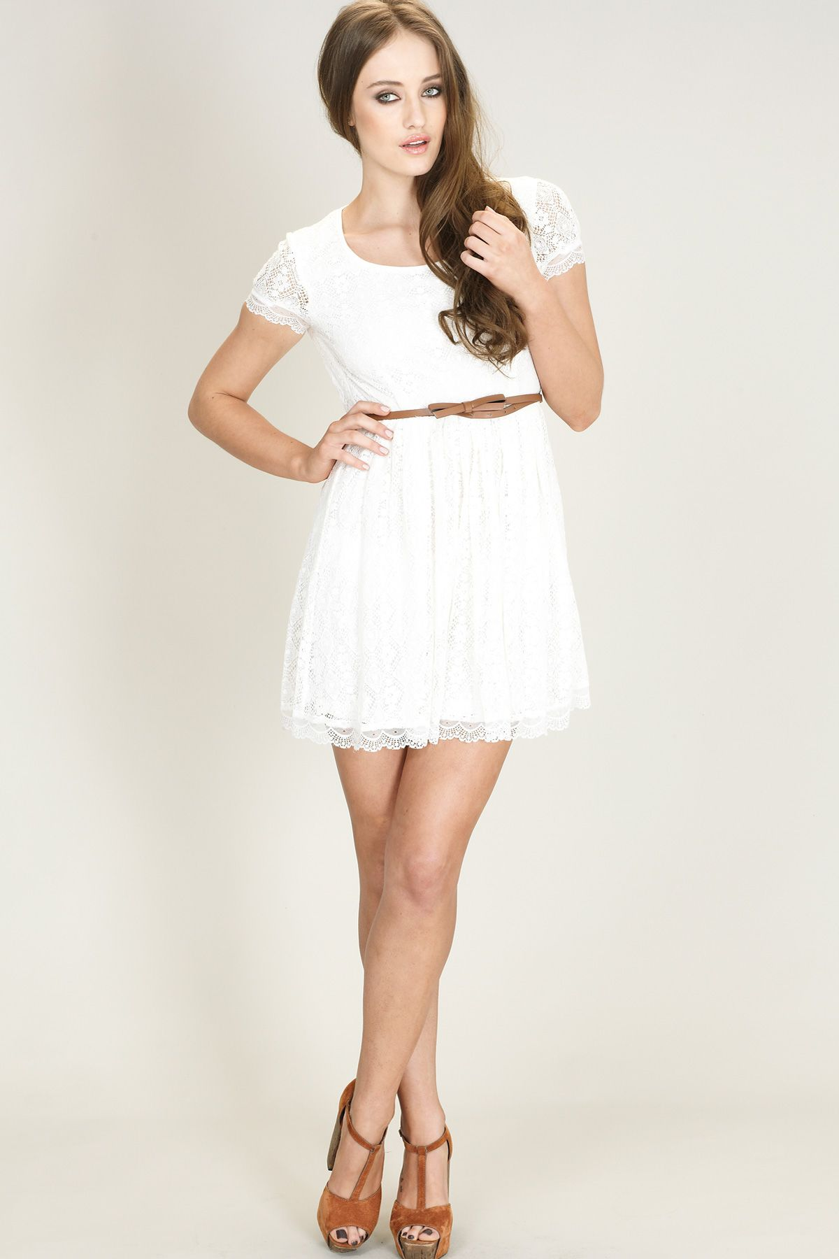 Beautiful White Dresses for Every Occasion | Summer dresses, Cream ...