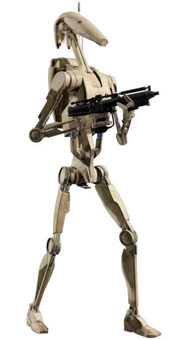 Image result for star wars robots i love robots battle droid star wars droids star wars - Robot blanc star wars ...