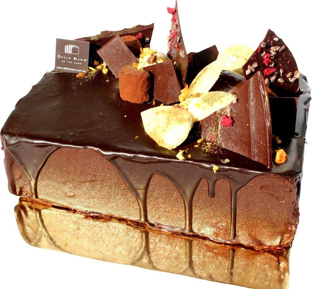 Dello Mano Luxury Chocolate Brownie Cake The Dello