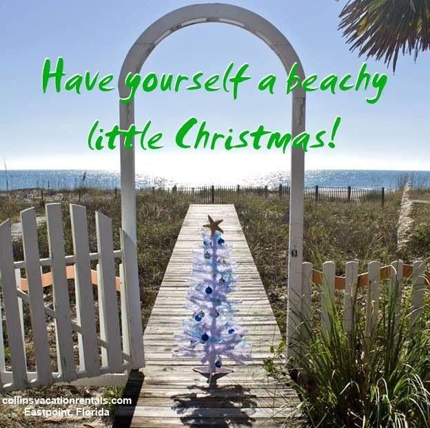 Have a beachy Christmas