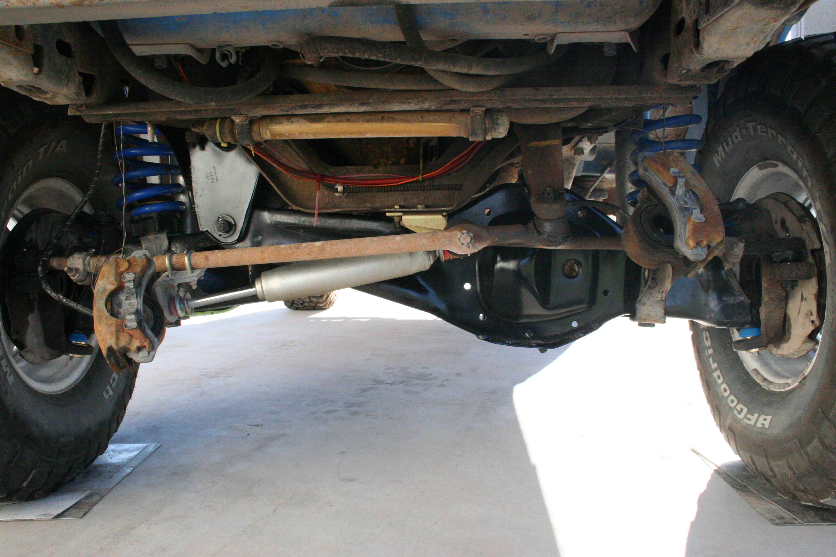 Undercarriage Ford Lifted Truck Ford Trucks Built Ford Tough