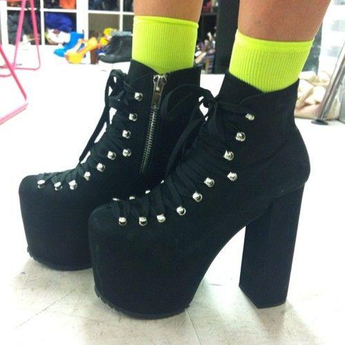 Hellbounds & neon socks