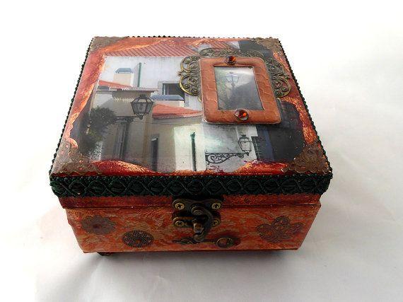 Decorative wood box wood jewelry box handcrafted by woodsensations decorative wood box wood jewelry box handcrafted by woodsensations solutioingenieria Image collections