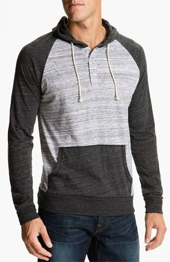 885ee6e7 Threads For Thought 'Bowery' Henley Hoodie | Nordstrom | Clothes ...