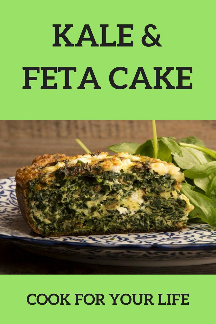 Kale & Feta Cake