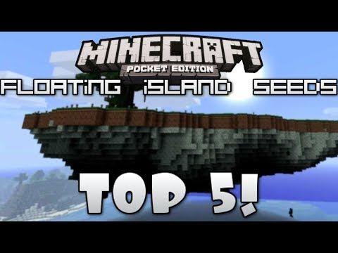 0 7 6] Top 5 FLOATING ISLAND SEEDS For Minecraft Pocket