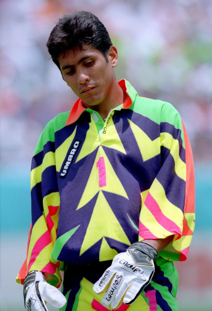 Jorge Campos World Cup National Football Teams The Sporting Life