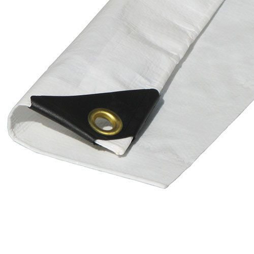 Ptm Tarps Heavy Duty White Polyethylene Tarp 12 X 20 Tw1220 Boat Covers Vinyl Patio Covers Car Canopy