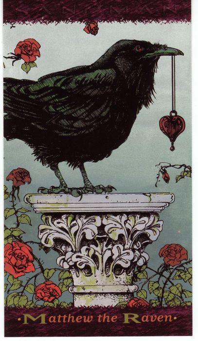 Matthew the Raven, from The Sandman