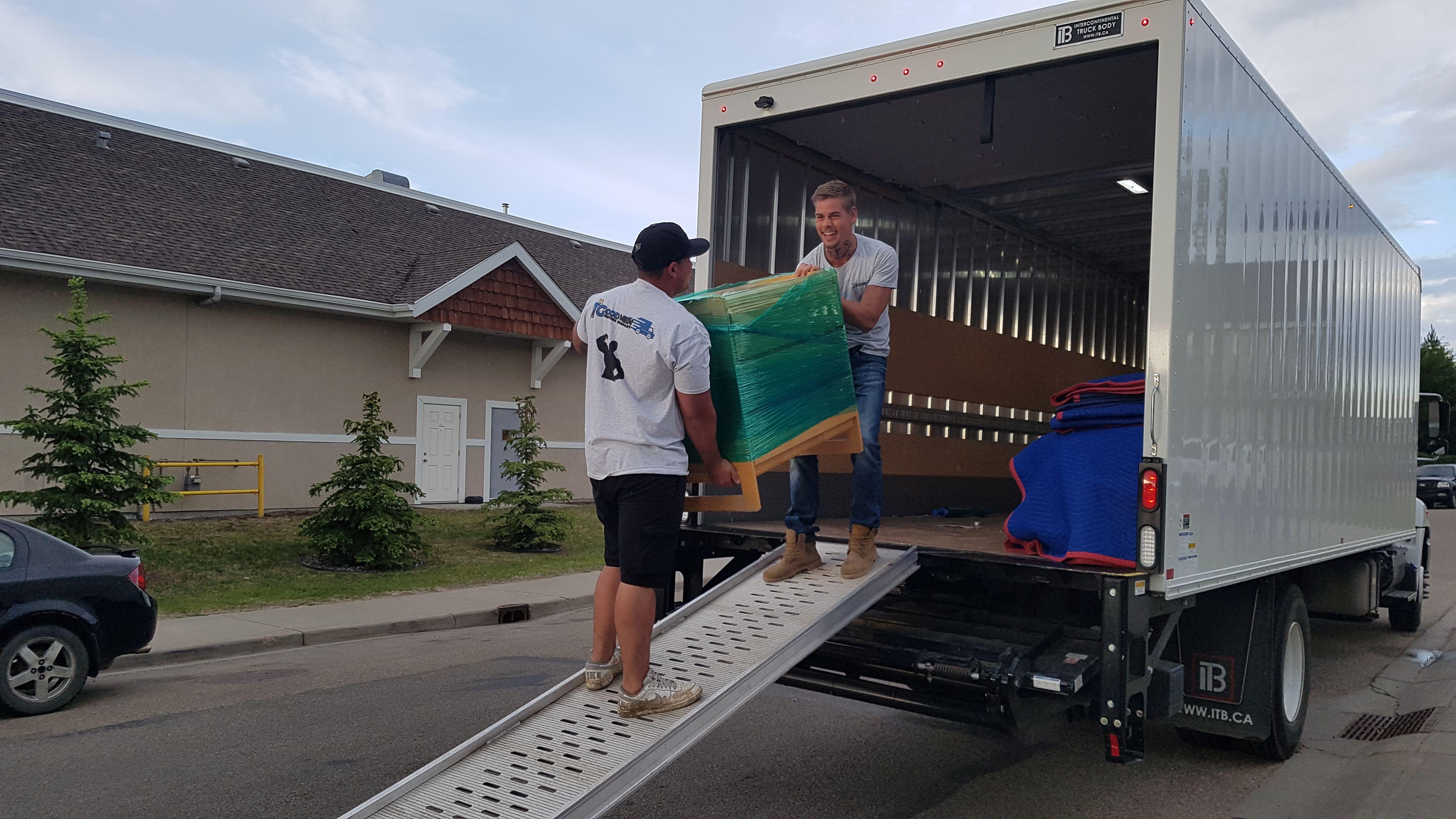 Good Men Moving Company & Edmonton Family Owned Company