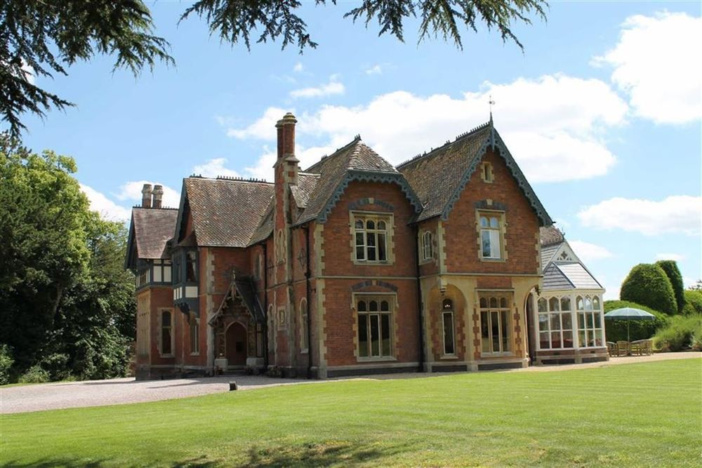 Impressive And Substantial Victorian Country Manor House In
